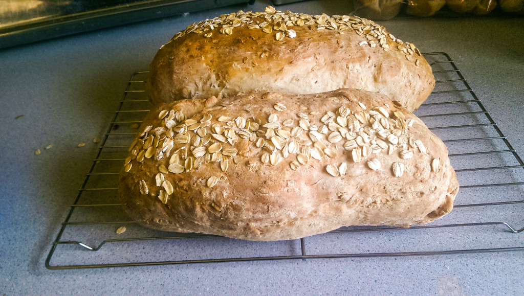 Heavenly Honey Oat Bread